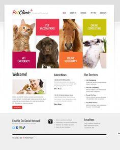 dogs website template - Buscar con Google