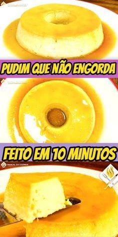 PUDIM QUE NÃO ENGORDA FEITO EM 10 MINUTOS #pudimlight #pudimlowcarb #lowcarb #cozinha #receita #receitafacil #receitas #comida #food #manualdacozinha #aguanaboca #alexgranig
