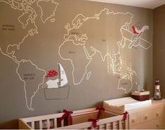 mural habitacion bebe - Buscar con Google