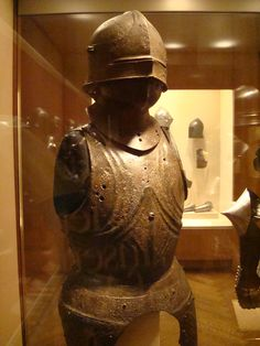 Armor seen at The Metropolitan Museum of Art in New York City