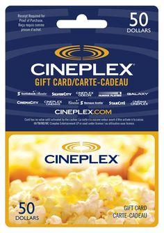 Image result for cineplex gift card