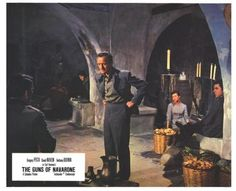 """WWII Movie ~ The Guns of Navarone (1961): """"Now just a minute! If we're going to get this job done she has got to be killed! And we all know how keen you are about getting the job done! Now I can't speak for the others but I've never killed a woman, traitor or not, and I'm finicky! So why don't you do it? Let us off for once! Go on, be a pal, be a father to your men! Climb down off that cross of yours, close your eyes, think of England, and pull the trigger! What do you say, Sir?"""""""