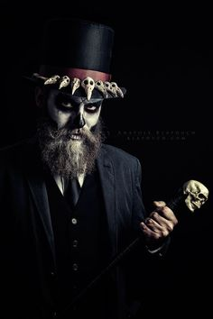 Halloween costume idea: Baron Samedi by klapouch voodoo priest witch doctor shaman sorcerer wizard warlock necromancer cosplay costume