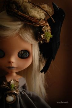 Luna - Melacacia Custom No 73.  I LOVE this girl, I love the artwork, the clothes and accessories, everything about her.