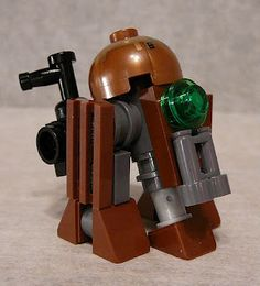 Super Punch: Steampunk Star Wars Lego: Droid, Landspeeder