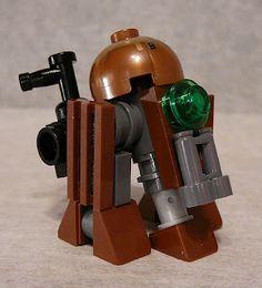 Super Punch: Steampunk Star Wars Lego: Droid, Landspeeder