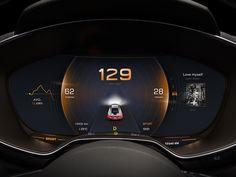 New Design in Car Dashboard No.2