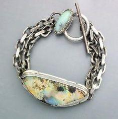 Boulder Opal Bracelet by Temi by Kardemon