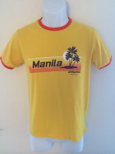 Vintages 90s Manila Philippines T-shirt on Etsy, $22.00