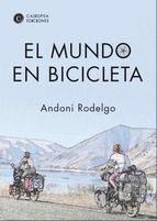 En el verano del 2004, Andoni Rodelgo y Alice Goffart lo dejaron todo por un sueño: alcanzar Extremo Oriente en bicicleta. Tras llegar a Japón dos años más tarde, continuaron viajando por el mundo hasta el 2013. En total, han recorrido 75.000 kilómetros por los 5 continentes. Durante esta aventura nacen sus dos hijos; Maia, en Bélgica (2007) y Unai en Bolivia (2011) con los que siguieron viajando!