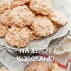Kokosanki (przepis II) Krispie Treats, Rice Krispies, Cereal, Breakfast, Cake, Health, Fit, Gastronomia, Polish Recipes