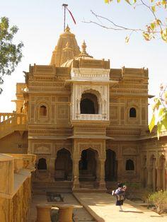 Jain temple, Jaisalmer, Rajasthan, India. Photo Helen Flamme.