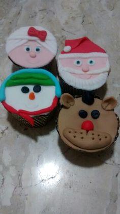 Cupcakes Natalinos.