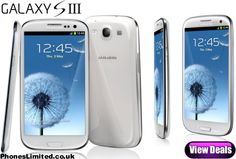 Marble White Samsung Galaxy S3 Best Deals - http://www.phoneslimited.co.uk/Samsung/Galaxy+S3+White.html