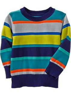 Striped Crew Sweaters for Baby | oldnavy.com