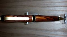 Cocobolo-King-Rosewood-Big-Ben-Cigar-Pen-24-KT-Gold-Finish-Standard-Cut-Design