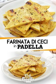 Recipe Farinata di Ceci Ligure in Padella - The Recipe Club - William Remington Vegetarian Recipes, Cooking Recipes, Healthy Recipes, Enjoy Your Meal, Plat Simple, Good Food, Yummy Food, Beach Meals, Cooking Time