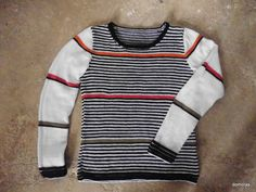 CASTANEA, knitting pattern for cotton jumper from domoras
