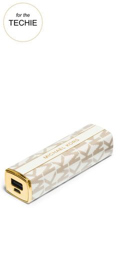 Gifts for the Techie |MICHAEL Michael Kors® Lipstick Charger | Very Merry Gift Guide