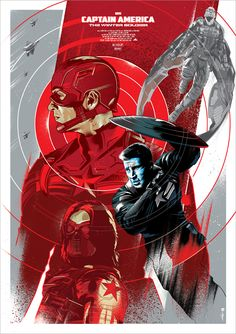 Captain America, The Winter Soldier -Movie poster,©Marvel.