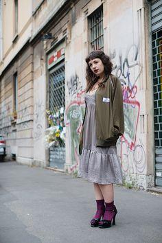 The Sartorialist: On the Street...Via Solari, Milan