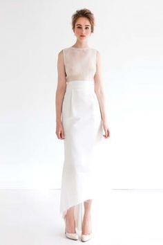 Katie Ermilio Spring '12 Is A (Bridesmaid's) Dream #Refinery29 @KatherineHufhand um with a nude underlay? bridesmaid?