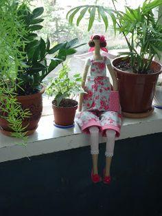 Артель игрушек -Ольги Гладких: МК по созданию игрушки в стиле Тильда