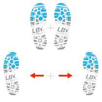 Entraînement cardio à la corde à sauter, technique avancée n°1 : Side straddle ou les pieds écartés
