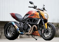 Ducati Diavel custom byDucati NagoyaNorth