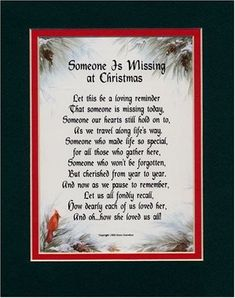 Christmas Quotes Without A Loved One