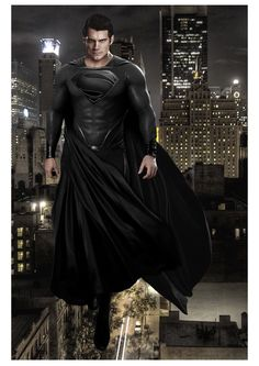 Ooo I'd love to see an evil Superman. He'd probably do it too well.