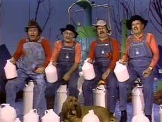 """""""Gloom, Despair & Agony on Me!"""" -  Hee Haw! Roy Clark, Grandpa Jones, Gordie Tapp, & Archie Campbell"""