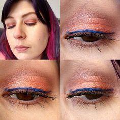 Guten Morgen 🤗  Passend zu meinem Sweatjacke hatte ich gestern meine Augen, was aber doch ziemlich verheult dann aussah, aber mir gefällta 😁 #kiko #creamcrush 02, darüber #makeupgeek #maitaj und #nyx #fireball und in der Lidfalte habe ich nen wilden Mix aus 3 oder 4 Lidschatten. #kikocosmetics #kikomilano #nyxcosmetics  #eyesoftheday #eotd #eyes #eyemakeup #amu #augenmakeup #eyelook #makeupoftheday #face #faceoftheday #fotd #selfie #selfies #me #itsme #goodmorning #gutenmorgen