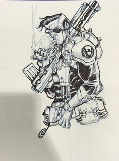Nick Fury by Eric Canete