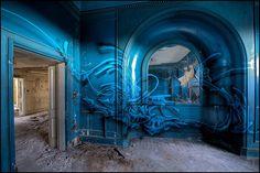 La Mouche - His Blue Period by Romany WG, via Flickr
