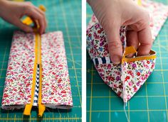 DIY: Mini Boxy Makeup Bag | Say Yes to Hoboken