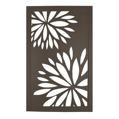 metal+flowers+wall+art | selection of wall decor including this metal cut floral ii wall decor ...