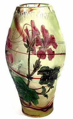 A SIGNED BURGUN & SCHVERER FRENCH CAMEO VASE, Meisenthal, France, by Desire Christian (1846-1907)
