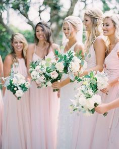 Alyssa and Jacob's Romantic Blush Backyard Wedding Mallory Dawn Photography Blush Bridesmaid Dresses, Wedding Dresses, Bridesmaids, Wedding Day Inspiration, Wedding Ideas, Fine Art Wedding Photography, Elope Wedding, Floral Wedding, Wedding Blush