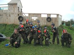 Paintballing at Kilkenny Activity Centre Experience a radical paintball game, kill all that moves and become the winner we know you can be. Activity Centers, Paintball, Centre, Ireland, Parties, Activities, Canning, Game, Fiestas