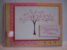 'Thinking of You...' by djahner - Cards and Paper Crafts at Splitcoaststampers
