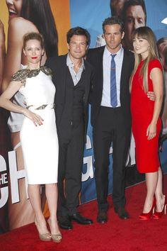 The Change Up premiere: Ryan Reynolds, Jason Batemen, Olivia Wilde