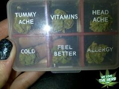 Weed pills