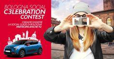 Segnala un posto speciale della città, anche con una foto di gruppo o un selfie, condividilo e poi invita i tuoi amici a votarlo. Potresti vincere una giornata con Nuova Citroën C3, l'auto più social che c'è.  Hai tempo fino al 15 dicembre! Cosa aspetti? Vai sul sito >>> http://socialcelebration.it/ <<< e carica le tue foto! #Bologna