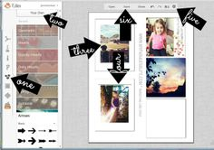 My Fabuless Life: How To Print Your Own Instagram Photos {Free Template}