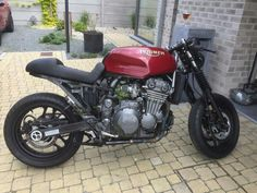 Triumph trophy 900 cafe racer by Kevin Hendrickx