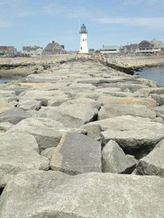 Scituate Lighthouse in Scituate, MA