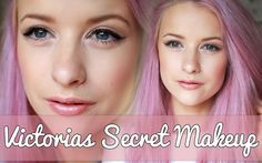 Victoria's Secret-inspired make-up tutorial