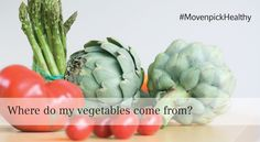 Have you ever wondered where your vegetables come from when you dine at Mövenpick Hotel Beirut? #MovenpickHealthy
