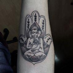 Ganesha Tattoo by canekestudio